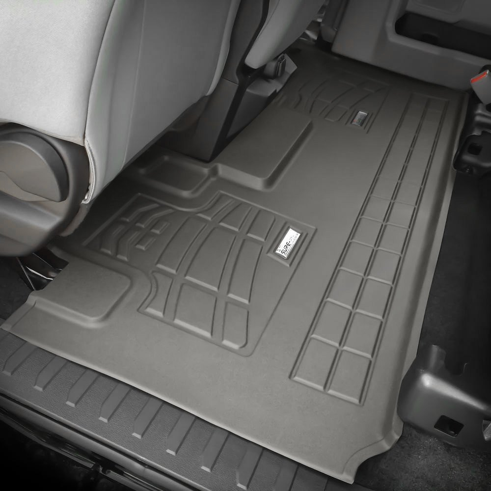 purchase Westin® 72-124071 - Wade Sure-Fit 2nd Row Gray Floor Liner 707742065754 for Ford truck cheap online