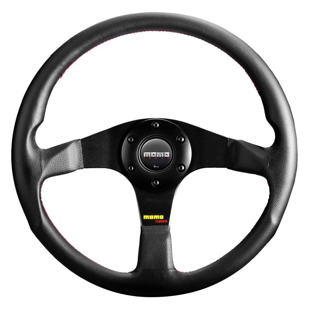 purchase MOMO® TUN32BK0B - Tuner Series Steering Wheel, Leather for Ford truck cheap online