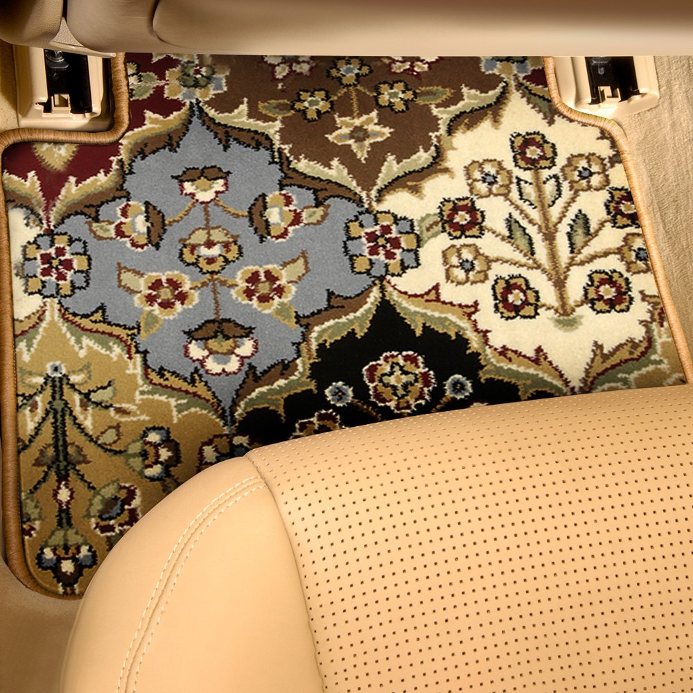 purchase Designer Mat® FO-537R-OR-0002-2PRST-NB-NL - Oriental Auto Mat™ 2nd Row Multicolor Carpeted Floor Mats for Ford truck cheap online