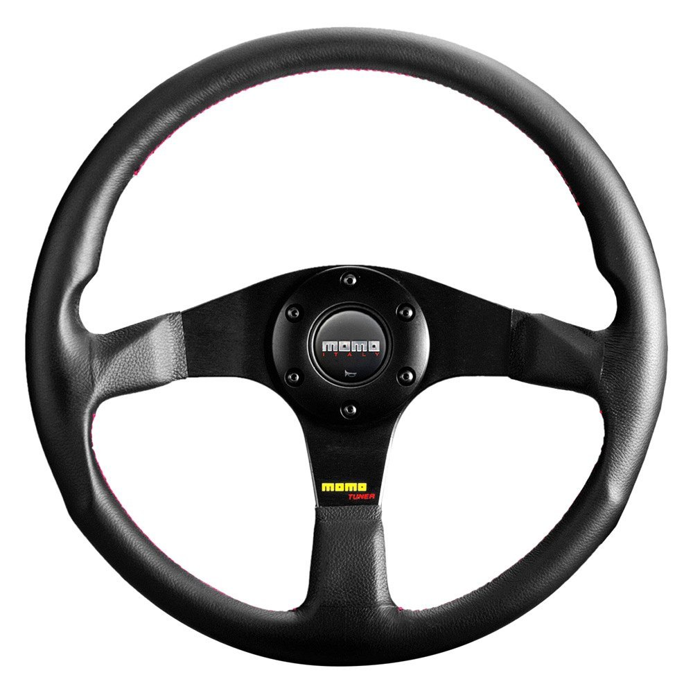 purchase MOMO® TUN35BK0B - Tuner Series Steering Wheel, Leather for Ford truck cheap online