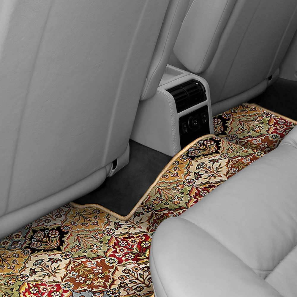 purchase Designer Mat® FO-538-OR-0002-1PRST-FB-NL - Oriental Auto Mat™ 2nd Row Over the Hump Multicolor Carpeted Floor Mat for Ford truck cheap online