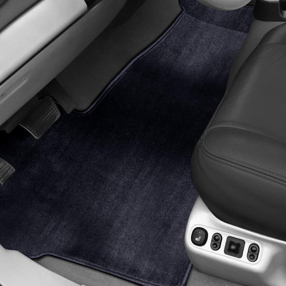 purchase Designer Mat® FO-530F/FO-531-DM-1033-3PSET-FB-NL - Designer Mat™ 1st Row & 2nd Row, Over the Hump Dark Blue Carpeted Floor Mats for Ford truck cheap online