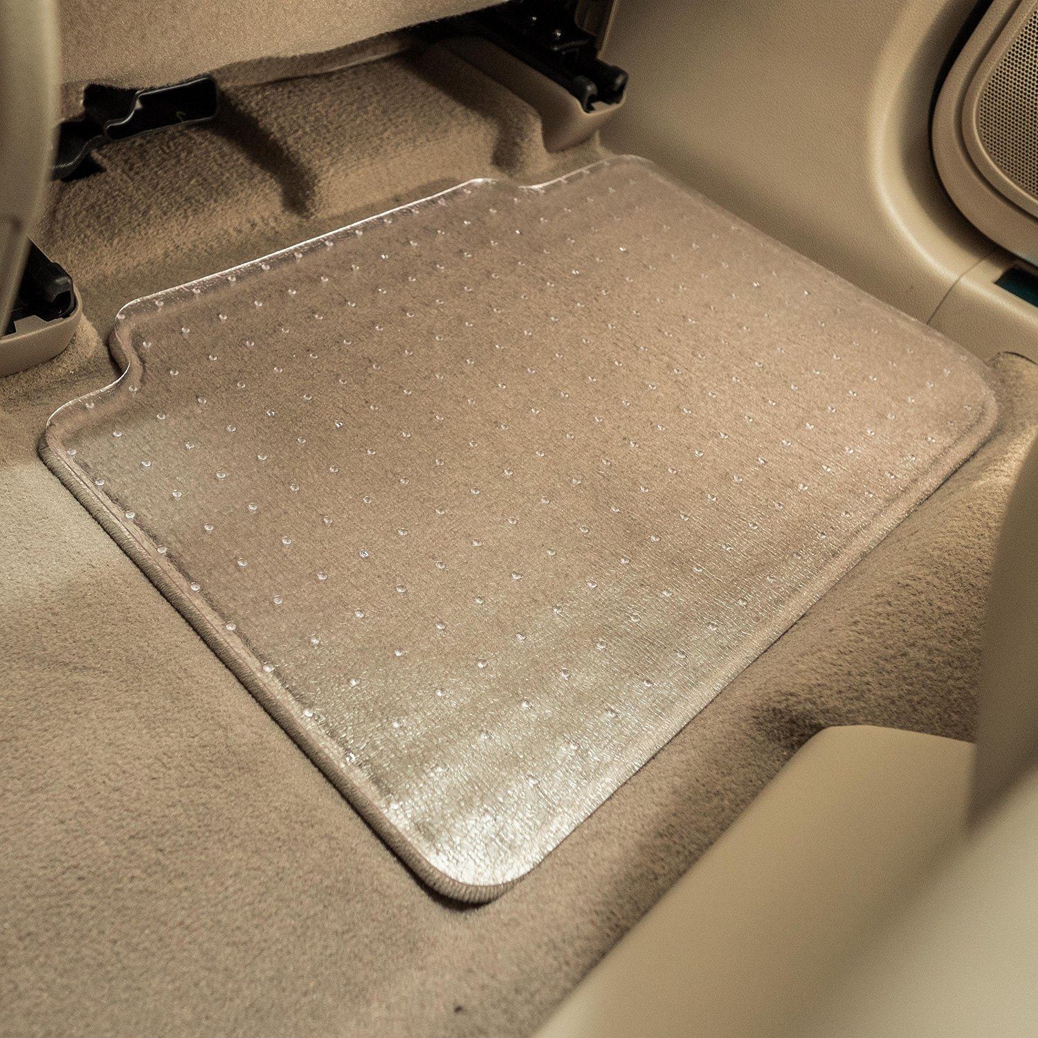 car universal floor skid carpets mat back itm non rubber set clear mats front