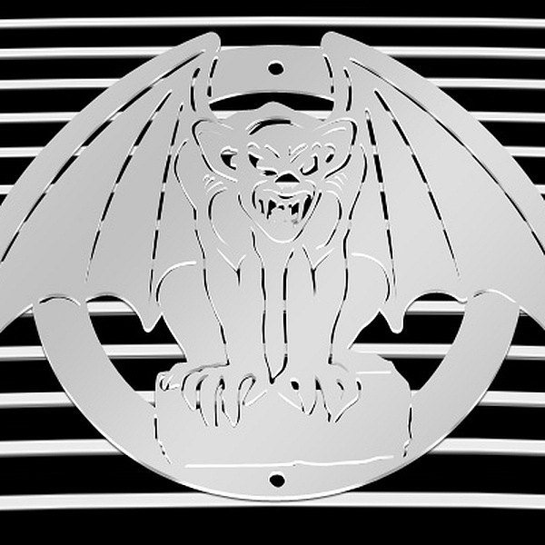 purchase T-Rex® L1010 - Gargoyle Polished Grille Badge 609579013383 for Ford truck cheap online