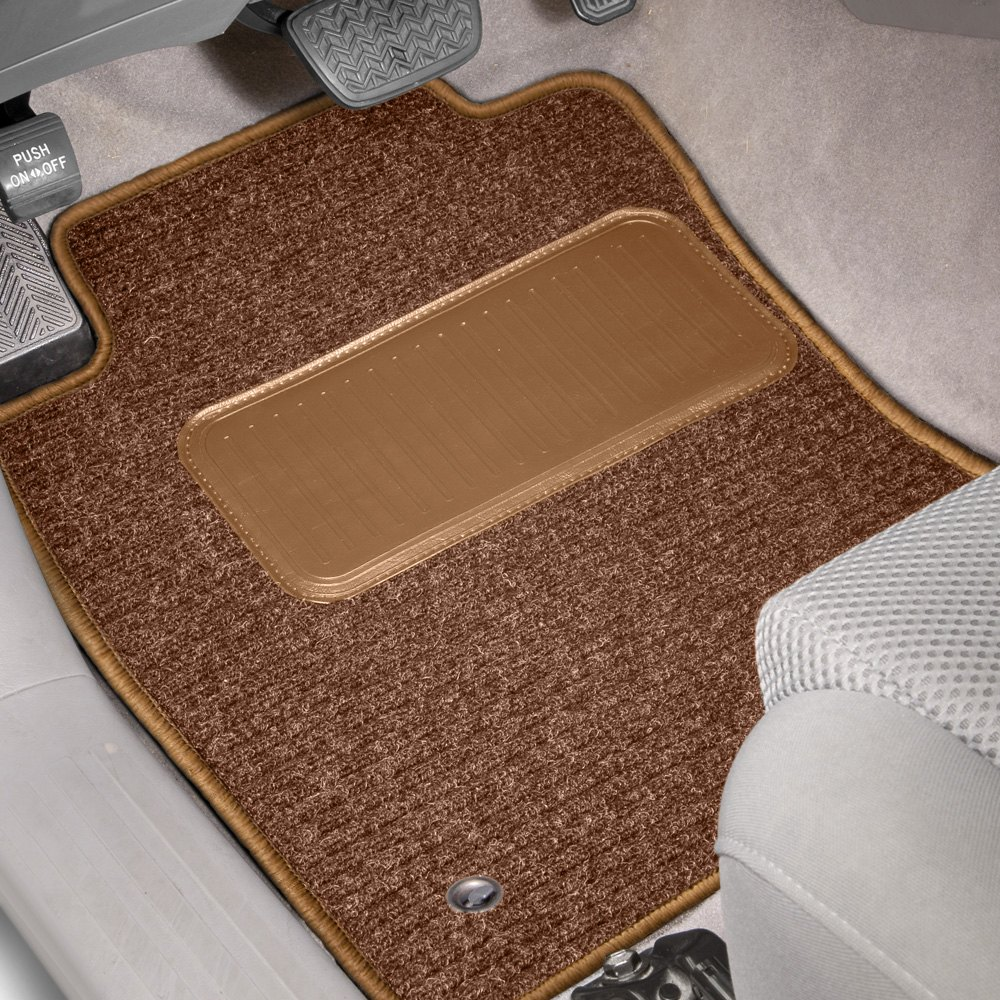 purchase Designer Mat® FO-530-RH-0940-4PSET-FB-NL - Rhino Auto Mat™ 1st Row & 2nd Row Tan Carpeted Floor Mats for Ford truck cheap online